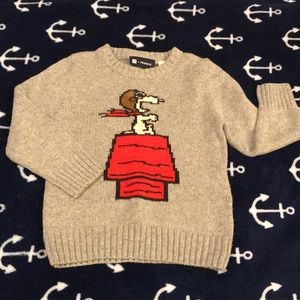Baby GAP + Peanuts Collection Knit Sweater